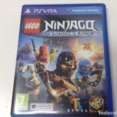 Videojuegos y Consolas PS Vita: LEGO NINJAGO LA SOMBRA DE RONIN. Lote 135530598
