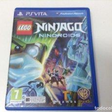Videojuegos y Consolas PS Vita: LEGO NINJAGO NINDROIDS. Lote 135530962