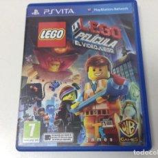 Videojuegos y Consolas PS Vita: LEGO LA PELICULA EL VIDEOJUEGO. Lote 135531474