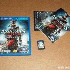 Videojuegos y Consolas PS Vita: ASSASIN'S CREED III : LIBERATION PARA SONY PSVITA / VITA , PAL. Lote 135532106