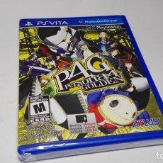 Videojuegos y Consolas PS Vita: PERSONA 4 GOLDEN ( PRECINTADO) ( SONY PS VITA -) MULTI IDIOMAS. Lote 142786081