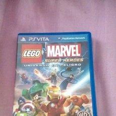 Videojuegos y Consolas PS Vita: LEGO MARVEL SUPER HEROES PS VITA. Lote 138933142
