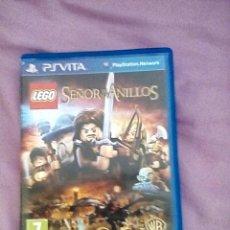 Videojuegos y Consolas PS Vita: LEGO EL SEÑOR DE LOS ANILLOS PS VITA. Lote 138933838