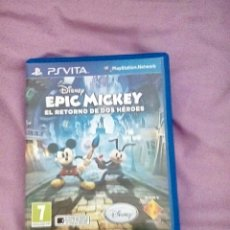 Videojuegos y Consolas PS Vita: EPIC MICKEY PS VITA. Lote 138933936