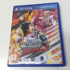 Videojuegos y Consolas PS Vita: ONE PIECE BURNING BLOOD . Lote 139535690