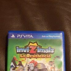 Videojuegos y Consolas PS Vita: CAJA VACÍA INVIZIMALS LA RESISTENCIA (NO CONTIENE EL JUEGO ). Lote 139749556