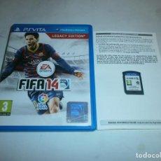 Videojuegos y Consolas PS Vita: FIFA 14 PS VITA . Lote 140979306