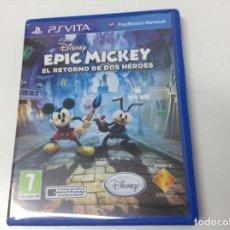 Videojuegos y Consolas PS Vita: EPIC MICKEY EL RETORNO DE DOS HEROES. Lote 142466446