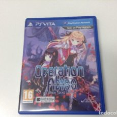 Videojuegos y Consolas PS Vita: OPERATION ABYSS NEW TOKYO LEGACY. Lote 145837790