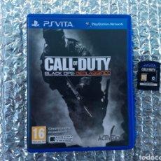 Videojuegos y Consolas PS Vita: JUEGO PS VITA CALL OF DUTY EN PERFECTO ESTADO. Lote 205644523
