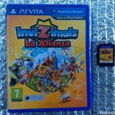 Videojuegos y Consolas PS Vita: JUEGO PS VITA INVIZIMALS LA ALIANZA EN PERFECTO ESTADO. Lote 146085308
