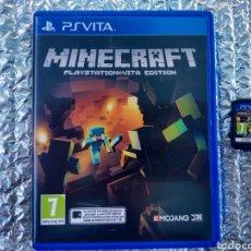 Videojuegos y Consolas PS Vita: JUEGO PS VITA MINECRAFT EN PERFECTO ESTADO. Lote 146086145
