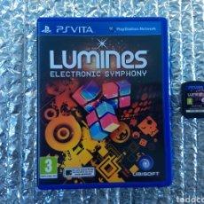 Videojuegos y Consolas PS Vita: JUEGO PSVITA LUMINES EN PERFECTO ESTADO. Lote 146086517