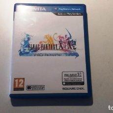 Videojuegos y Consolas PS Vita: FINAL FANTASY X / X2, CON EL CÓDIGO DE DESCARGA DEL X2 SIN USAR, PS VITA. Lote 146746242