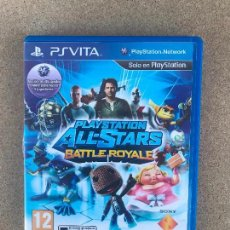 Videojuegos y Consolas PS Vita: PLAYSTATION ALL-STARS BATTLE ROYALE PARA PS VITA - PSVITA - EN BUEN ESTADO, FUNCIONANDO. Lote 171444934
