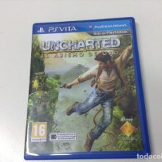 Videojuegos y Consolas PS Vita: UNCHARTED EL ABISMO DE ORO . Lote 146924082