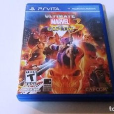 Videojuegos y Consolas PS Vita: ULTIMATE MARVEL VERSUS CAPCOM. PS VITA. Lote 147077938