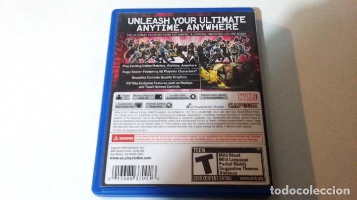 Videojuegos y Consolas PS Vita: ULTIMATE MARVEL VERSUS CAPCOM. PS VITA - Foto 2 - 147077938