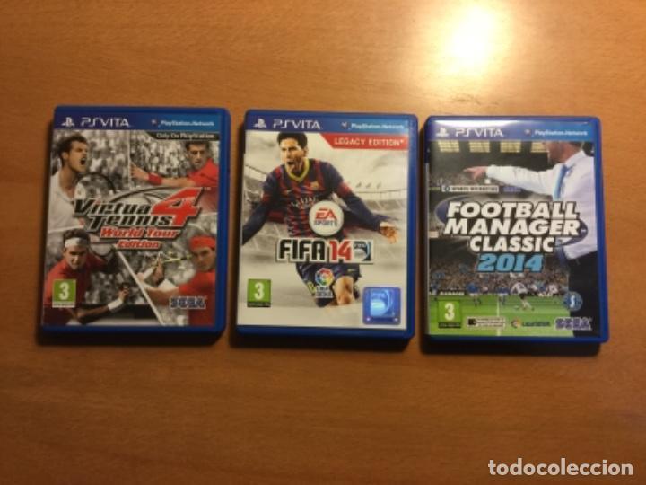 Videojuegos y Consolas PS Vita: Ps vita con 18 juegos y extras. - Foto 5 - 148018018