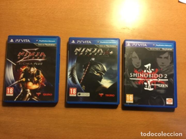 Videojuegos y Consolas PS Vita: Ps vita con 18 juegos y extras. - Foto 6 - 148018018