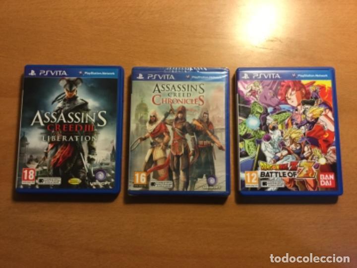 Videojuegos y Consolas PS Vita: Ps vita con 18 juegos y extras. - Foto 7 - 148018018