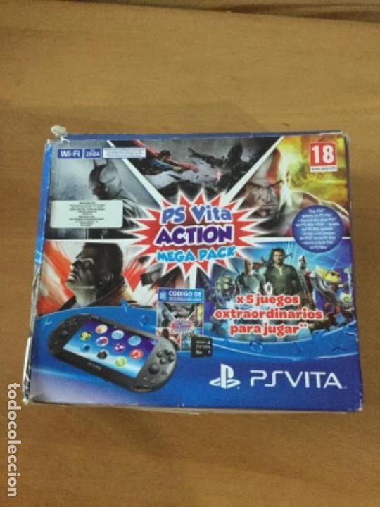 Videojuegos y Consolas PS Vita: Ps vita con 18 juegos y extras. - Foto 8 - 148018018