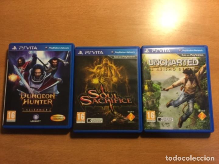 Videojuegos y Consolas PS Vita: Ps vita con 18 juegos y extras. - Foto 9 - 148018018