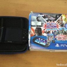 Videojuegos y Consolas PS Vita: PS VITA CON 18 JUEGOS Y EXTRAS.. Lote 148018018