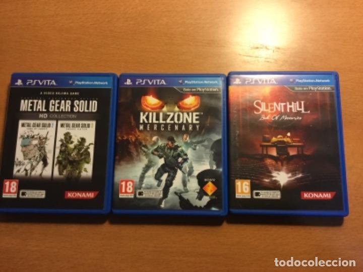 Videojuegos y Consolas PS Vita: Ps vita con 18 juegos y extras. - Foto 3 - 148018018