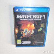 Videojuegos y Consolas PS Vita: MINECRAFT: PLAYSTATION VITA EDITION NUEVO. Lote 148152854