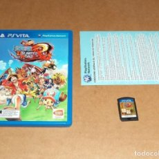 Videojuegos y Consolas PS Vita: ONE PIECE : UNLIMITED WORLD RED PARA SONY PSVITA / VITA , PAL. Lote 148359030