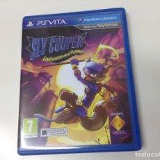 Videojuegos y Consolas PS Vita: SLY COOPER LADRONES EN EL TIEMPO. Lote 149803254