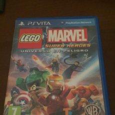 Videojuegos y Consolas PS Vita: LEGO MARVEL SUPER HÉROES PSVITA. Lote 150074394