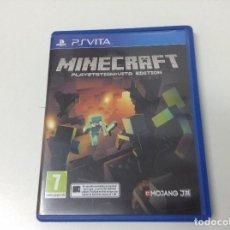Videojuegos y Consolas PS Vita: MINECRAFT PLAYSTATION VITA EDITION. Lote 151853122