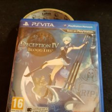 Videojuegos y Consolas PS Vita: SONY PSVITA DECEPTION IV BLOOD TIES. Lote 151908613