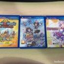 Videojuegos y Consolas PS Vita: 3 VIDEOJUEGOS PS VITA. Lote 157130724