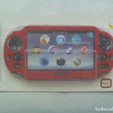 Videojuegos y Consolas PS Vita: KIT FUNDA DE SILICONA , SOLO PARA EL NUEVO SISTEMA PLAYSTATIONVITA . EN SU BLISTER. Lote 162332566