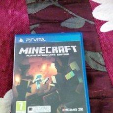 Videojuegos y Consolas PS Vita: MINECRAFT PS VITA. Lote 166693924