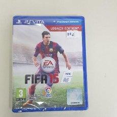 Videojuegos y Consolas PS Vita: 619- FIFA 15 LEGACY EDITION PS VITA NUEVO PRECINTADO VERSION ESPAÑOLA . Lote 167739040