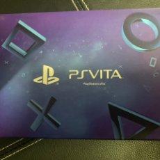 Jeux Vidéo et Consoles: PSVITA AURICULARES AZULES PS EXCLUSIVOS. Lote 168418948