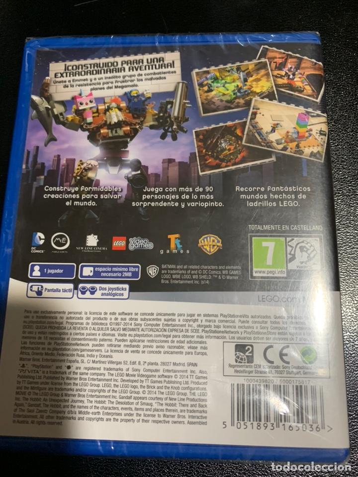 Videojuegos y Consolas PS Vita: PSVITA LEGO PELÍCULA EL VIDEOJUEGO (Precintado) - Foto 2 - 168634849