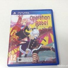 Videogiochi e Consoli: OPERATION BABEL NEW TOKYO LEGACY. Lote 170877380