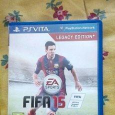 Videojogos e Consolas: FIFA 15 PS VITA. Lote 171035252