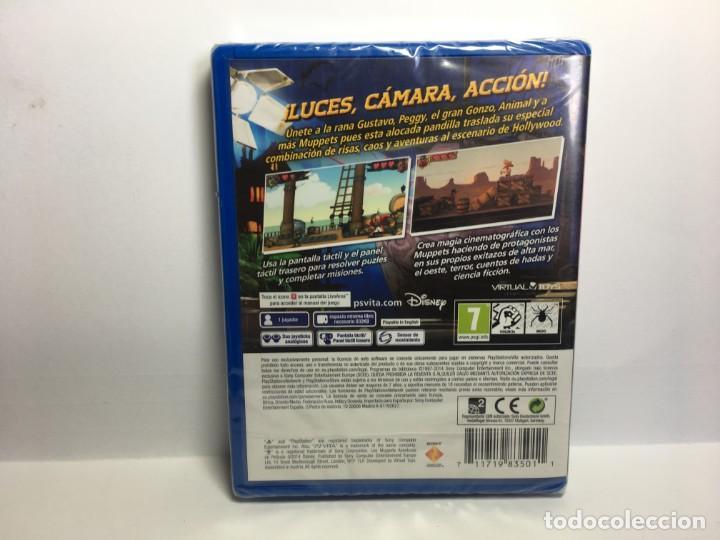 Videojuegos y Consolas PS Vita: JUEGO PS VITA LOS MUPPETS AVENTURAS DE POLICIA - NUEVO - PRECINTADO - Foto 2 - 171710010