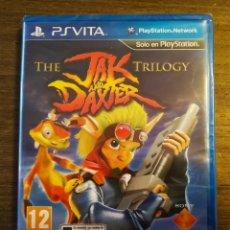 Videojuegos y Consolas PS Vita: JAK & DAXTER THE TRILOGY ¡¡¡PRECINTADO!!! VITA.. Lote 172465388