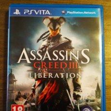 Jeux Vidéo et Consoles: ASSASSIN'S CREED LIBERATION PS VITA. Lote 172467770