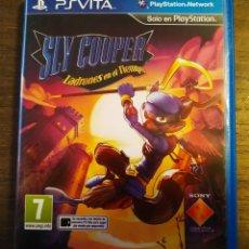 Jeux Vidéo et Consoles: SLY COOPER LADRONES EN EL TIEMPO. PS VITA.. Lote 172468195