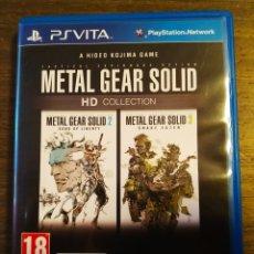 Jeux Vidéo et Consoles: METAL GEAR SOLID HD COLLECTION PS VITA. Lote 172468529