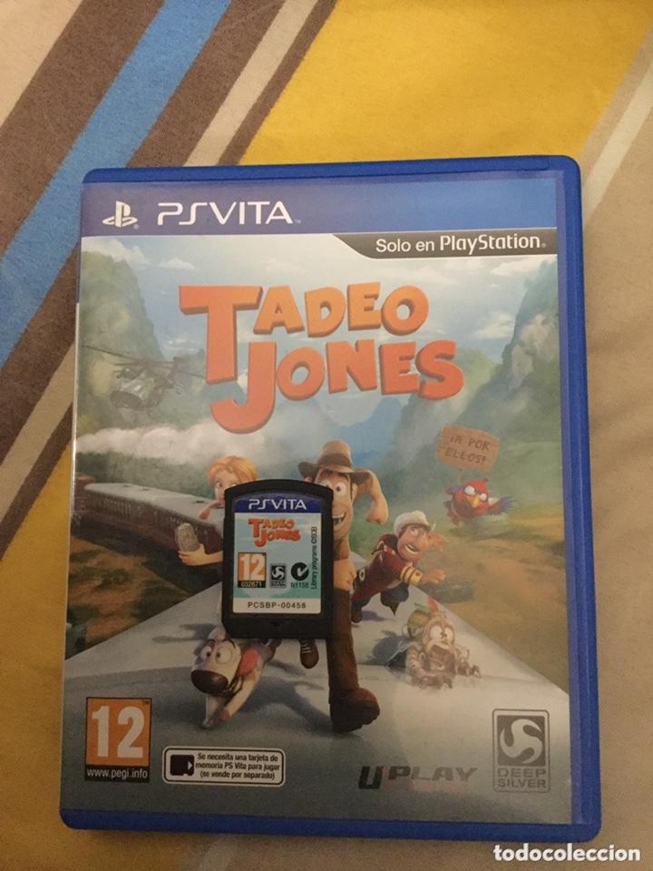 JUEGO DE PS VITA TADEO JONES (Juguetes - Videojuegos y Consolas - Sony - PS Vita)