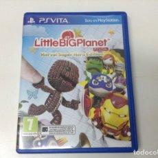 Videojuegos y Consolas PS Vita: LITTLE BIG PLANET PLAYSTATION VITA MARVEL SUPER HEROE EDITION. Lote 204221415